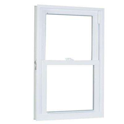 29.75 in. x 53.25 in. 70 Series Double Hung Buck PRO Vinyl Window - White