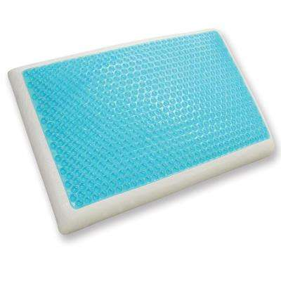 Cool Gel Standard-Size Reversible Gel and Memory Foam Bed Pillow