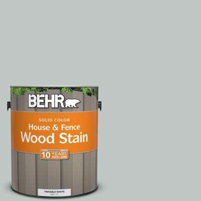 1 gal. #SC-365 Cape Cod Solid Color House and Fence Wood Stain