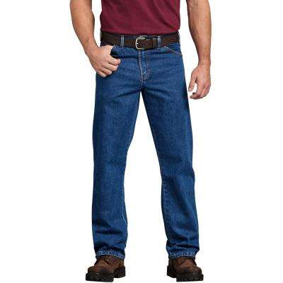 Men's Regular Straight Fit 5-Pocket Denim Jean