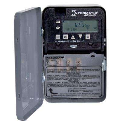 30 Amp 7-Day SPST 1-Circuit Astronomic Time Switch
