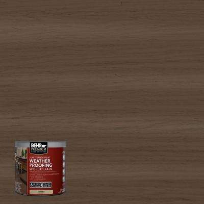 8-oz. #ST141 Tugboat Semi-Transparent Weatherproofing Wood Stain Sample
