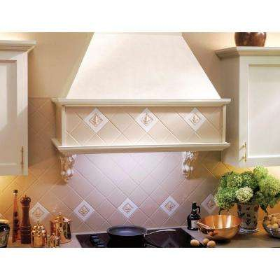 Custom 29 in. Insert Range Hood Kit with Light in Black
