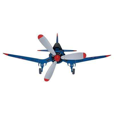 Fantasy Flyer 48 in. Indoor Blue Ceiling Fan