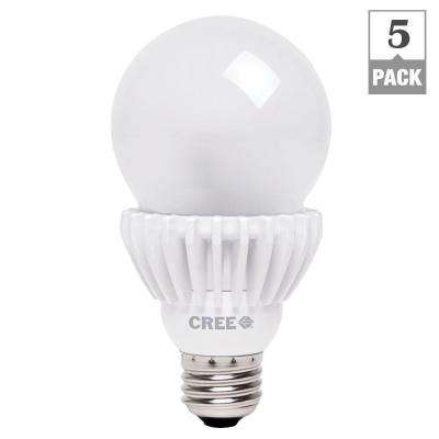 100W Equivalent Daylight (5000K) A21 Dimmable LED Light Bulbs (5-Pack)