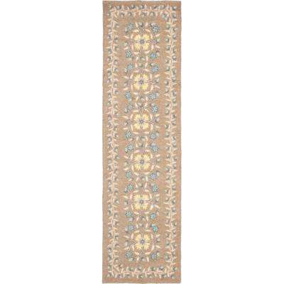 Folklore Monk's Cloth 2 ft. 3 in. x 8 ft. Rug Runner