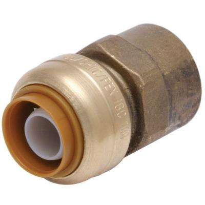 3/4 in. Brass Push-to-Connect x Female Pipe Thread Adapter