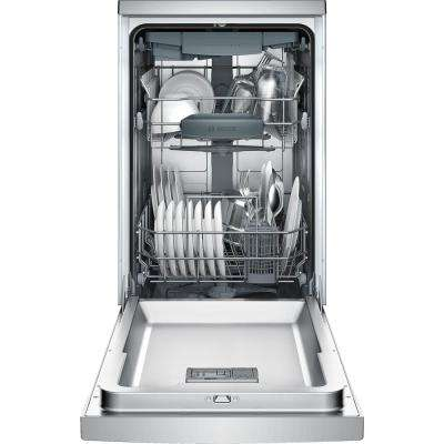 800 Series 18 in. Front Control Tall Tub Dishwasher in Stainless Steel with Stainless Steel Tub and 3rd Rack, 44dBA