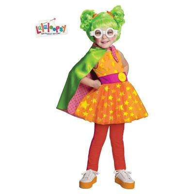 Girls Deluxe Lalaloopsy Dyna Might Costume
