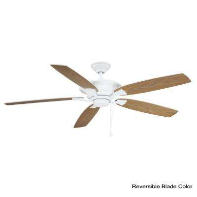 Ashburton 60 in. Indoor White Ceiling Fan