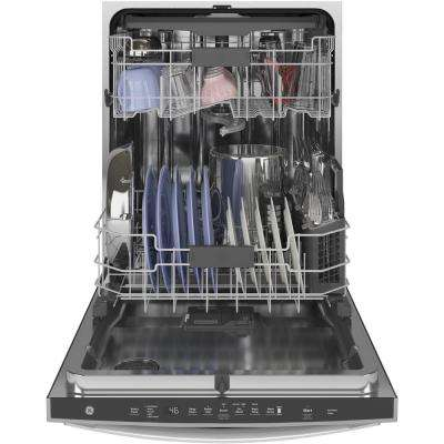 Top Control Tall Tub Dishwasher in Stainless Steel with Stainless Steel Tub and Steam Prewash, 46 dBA
