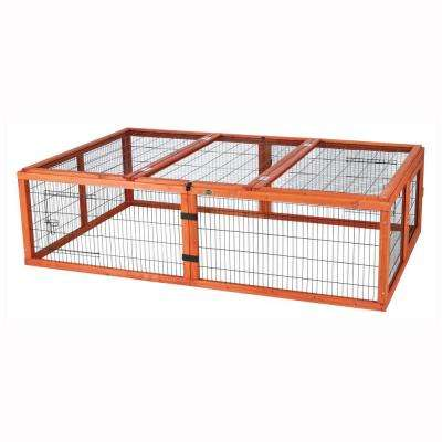 5.7 ft. x 3.6 ft. x 1.6 ft. Large Outdoor Enclosure with Mesh Cover Run
