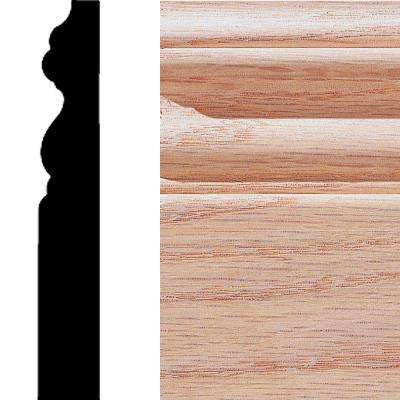 5/8 in. x 4 in. x 8 ft. Oak Base Moulding