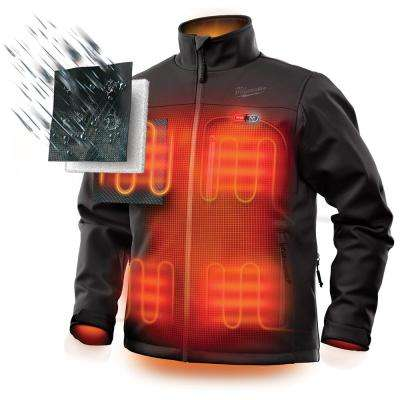 Men's M12 12-Volt Lithium-Ion Cordless Heated Jacket (Jacket Only)