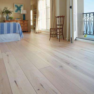 Maple Manhattan 3/8 in. T x 6-1/2 in. W x Varying Length Click Lock Engineered Hardwood Flooring (945.6 sq. ft. /pallet)