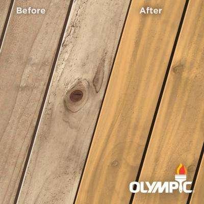 Maximum 5 gal. Redwood Naturaltone Semi-Transparent Exterior Stain and Sealant in One Low VOC