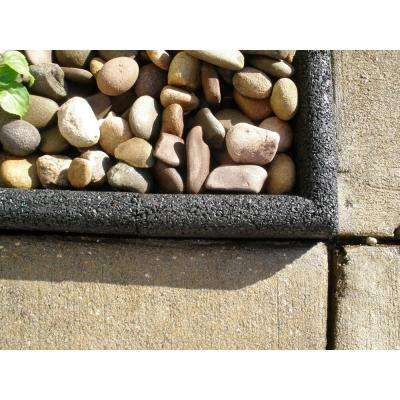 EcoBorder 4 ft. Black Rubber Landscape Edging (6-Pack)