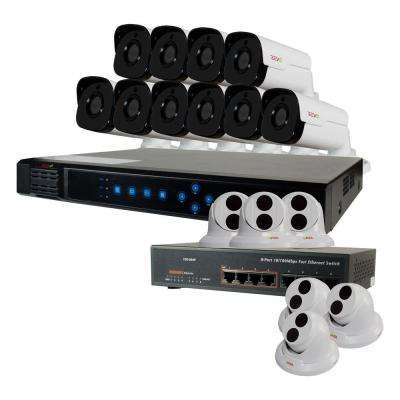 Ultra 16-Channel HD 4TB Surveillance NVR with (16) 4 Mega Pixel Cameras