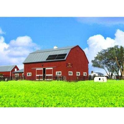 72-Watt Mini-Amorphous Solar Power Farm with (4) 18-Watt Solar Panels