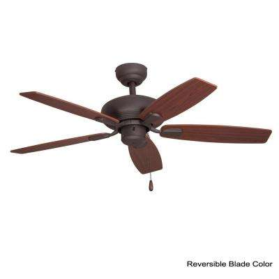 Winston 44 in. Bronze Ceiling Fan