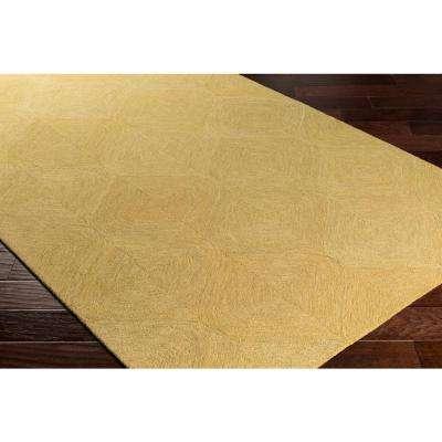 Hermitage Cooper Light Yellow 8 ft. x 10 ft. Indoor Area Rug