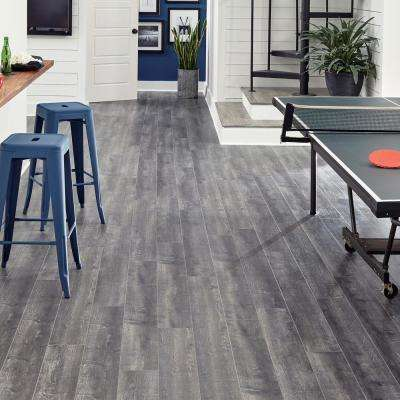 Milwick Gray Oak 12 mm Thick x 6-1/16 in. Wide x 50-2/3 in. Length Laminate Flooring (17.07 sq. ft. / case)