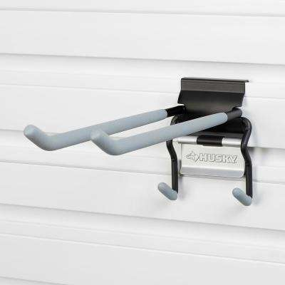 Slat Wall and Track 10 in. Quad Hook