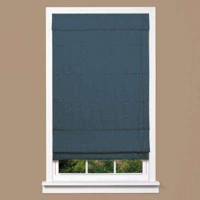 Linen Fabric Inaccessible Cord Roman Shade