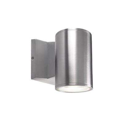 Royal Oak Silver Outdoor Integrated LED Wall Mount Sconce