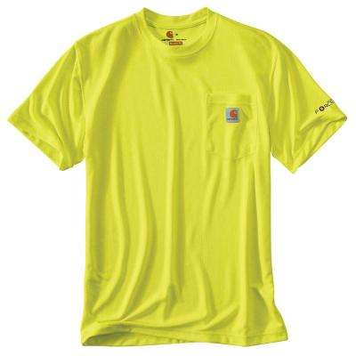 Personal Protective Brite Lime Polyester Short-Sleeve T-Shirt