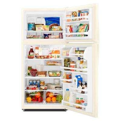 18.2 cu. ft. Top Freezer Refrigerator in Biscuit