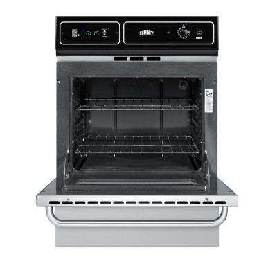 24 in. Single Gas Wall Oven in Stainless Steel