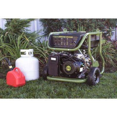 9,000/7,200-Watt Dual Fuel Powered Electric Start Portable Generator