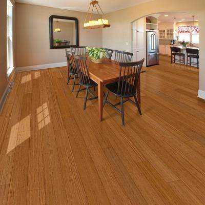 Jatoba Natural Dyna 1/2 in. T x 3 in. W x Varying Length Engineered Exotic Hardwood Flooring (23.63 sq. ft. /case)