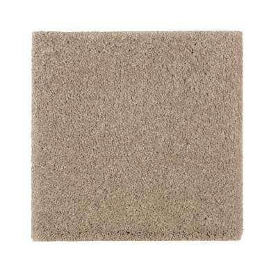 Gazelle I - Color Carrington Beige Texture 12 ft. Carpet