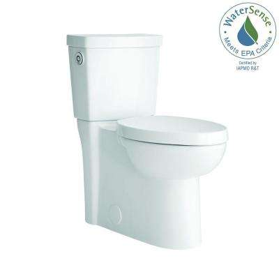 Studio Activate 2-Piece 1.28 GPF Single Flush Right Height Elongated Toilet in White