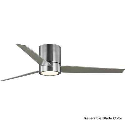 Braden 56 in. Brushed Nickel Integrated LED Ceiling Fan