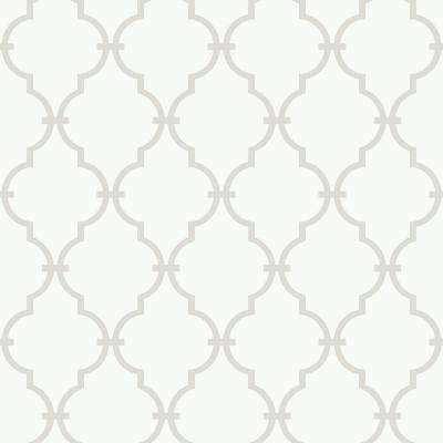 56 sq. ft. Peek-A-Boo Trellis Wallpaper