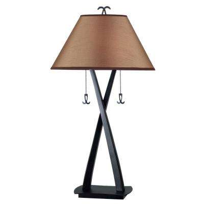 Wright 33 in. Oil-Rubbed Bronze Table Lamp
