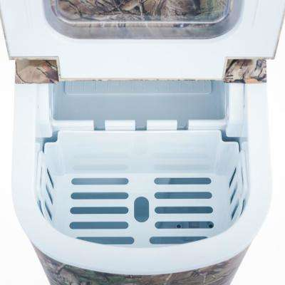27 lb. Freestanding Countertop Ice Maker in Realtree Xtra Camouflage