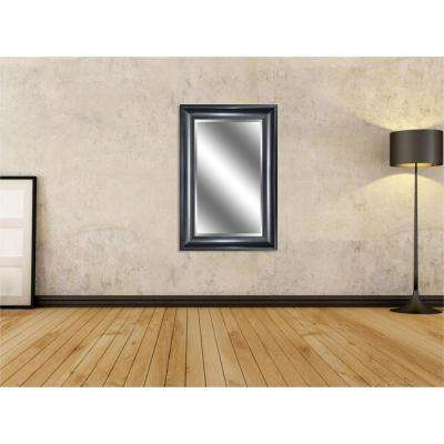 Reflection 24 in. x 36 in. Bevel Style Framed Peyton Bronze Finish Mirror