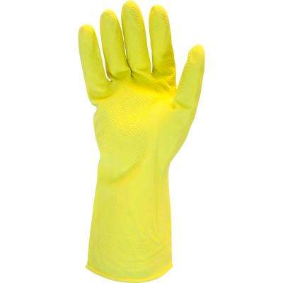 Chemical Gloves Heavy-Duty 18 Mil Yellow Latex 10DZ/CS