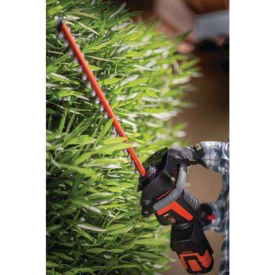 40-Volt Lithium-Ion Cordless Hedge Trimmer 2.5 Ah Battery and Charger Included