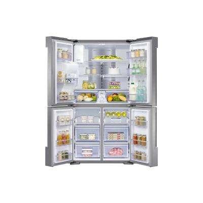22 cu. ft. Family Hub 4-Door Flex French Door Smart  Refrigerator in Stainless Steel, Counter Depth
