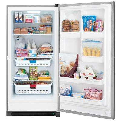 20.5 cu. ft. Frost Free Upright Freezer in Classic Slate, ENERGY STAR