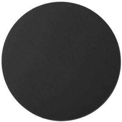 36 in. Black Circle Acoustic Sound Absorbing Wall Panels (2-Pack)