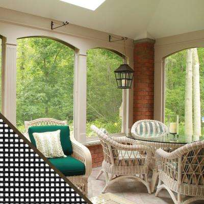 36 in. x 25 ft. Charcoal Fiberglass Small Insect Window Screen