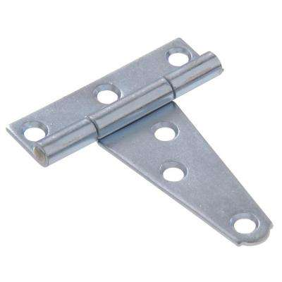 4 in. Light T-Hinge in Zinc-Plated (5-Pack)