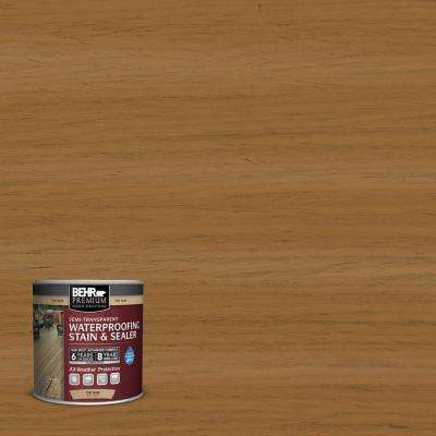 8 oz. #ST146 Cedar Semi-Transparent Waterproofing Stain and Sealer Sample