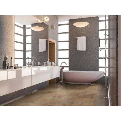 Sahara Gold 12 in. x 12 in. Polished Marble Floor and Wall Tile (10 sq. ft. / case)